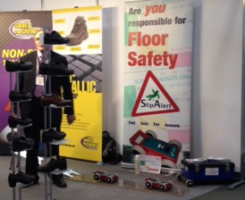 Dr Malcolm Bailey at Safety Health Expo
